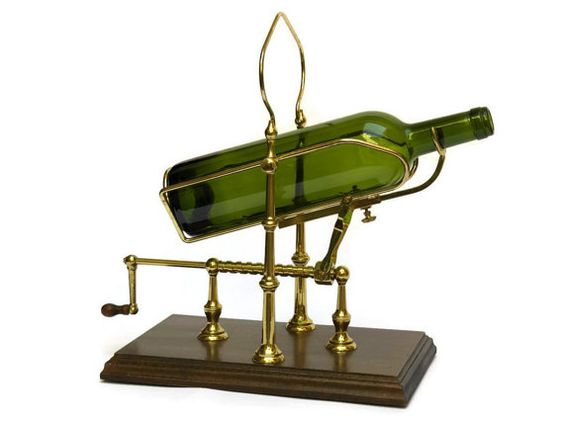 Wine Decanting Cradle. French Wine Pourer in by LeBonheurDuJour