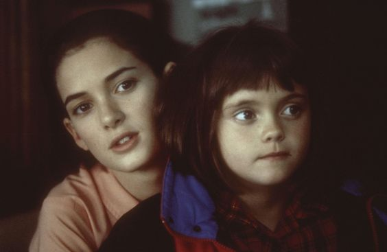 ~ Winona Ryder & Christina Ricci in Mermaids ~ loved that movie ~