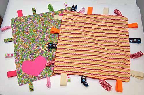 DIY Taggies Blanket/Lovie