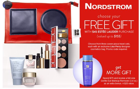 Choose 1 of 3 Estée Lauder gift now at NORDSTROM. Free with $45 ...
