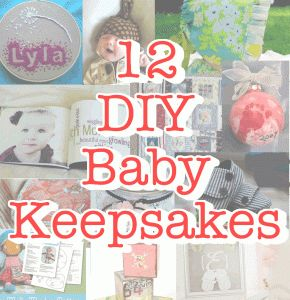 12 baby keepsakes