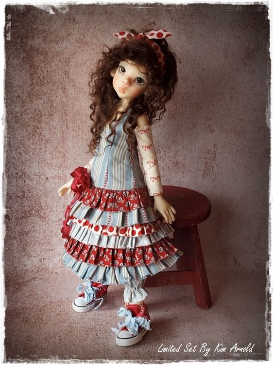 Limited Edition Outfit By Kim Arnold - Fits Msd Bjd - Kaye Wiggs , Dollstown  #ClothingAccessories