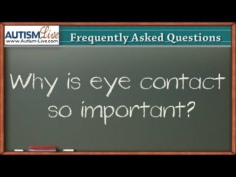 How to use eye contact in a presentation - YouTube