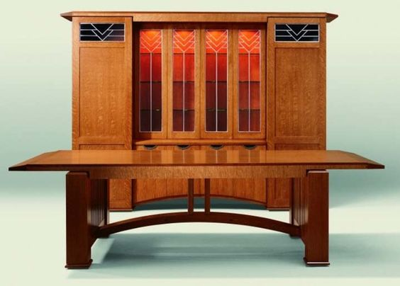 Pinterest the world s catalog of ideas for Craftsman style desk plans