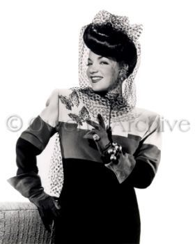 Actress Carmen Miranda