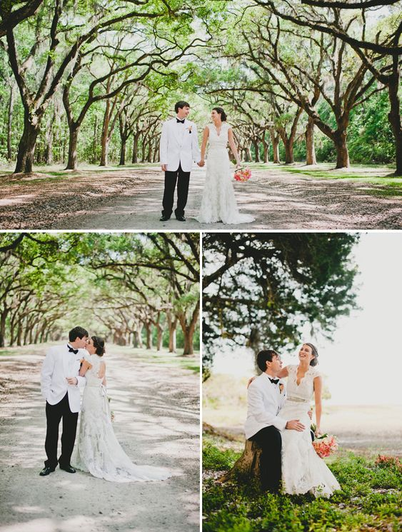 savannahga wedding happy ever after pinterest trees