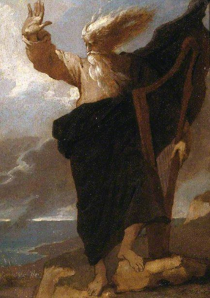 The Bard- Benjamin West