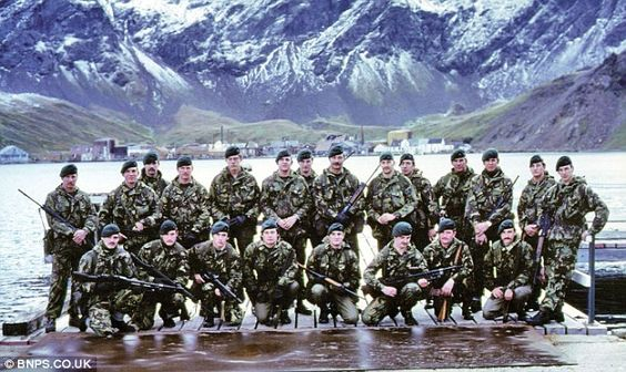 Untold story of how 22 Royal Marines held off hundreds of Argentinians and disabled a warship on eve of Falklands War. Article in description... http://www.dailymail.co.uk/news/article-1169911/Revealed-Untold-story-22-Marines-held-hundreds-Argentinians-disabled-warship-eve-Falklands-War.html