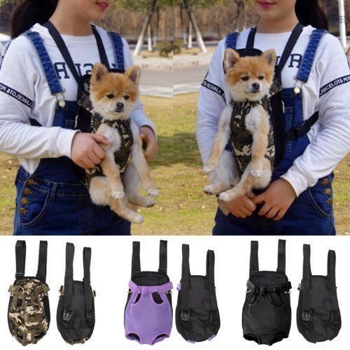 Canves Mesh Pet Puppy Dog Cat Carrier Backpack Front Net Bag Tote Sling Carrier Dog Backpack Carrier Dog Carrier Sling Dog Carrier