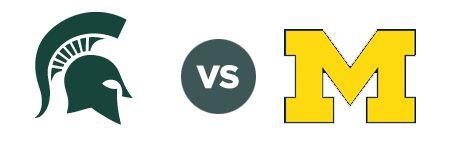 Michigan State Spartans vs. Michigan on Saturday, November 2nd 2013