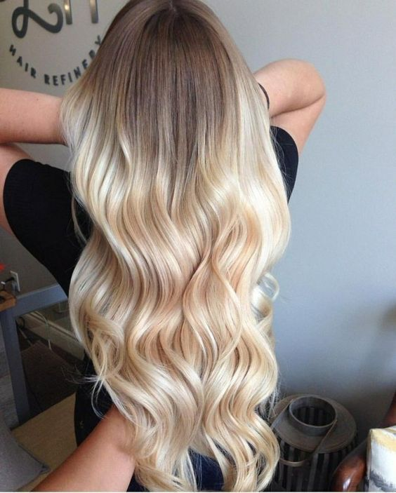 Ombre Hair Is Still One Of The Hottest Trends From Blonde Ombre Style To Black Silver Or Even Ash Tones Althoug Hair Styles Ombre Hair Blonde Glamorous Hair