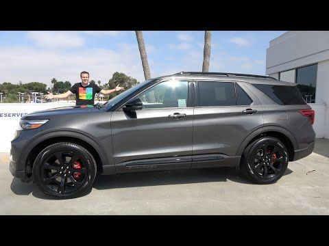 The 2020 Ford Explorer St Is A Fast Family Suv Youtube 2020 Ford Explorer Ford Explorer