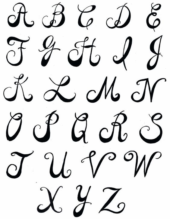 Creative Writing Alphabets