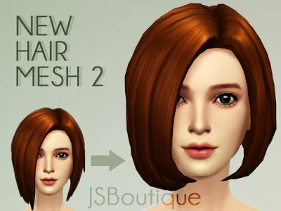 My Sims 4 Blog: JSBoutique Hair 2 for Females