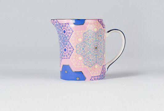 T2 Moroccan Tealeidoscope Pale Pink Milk Jug