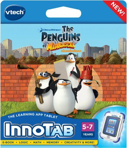 VTech InnoTab Software Penguins Of Madagascar httpwww