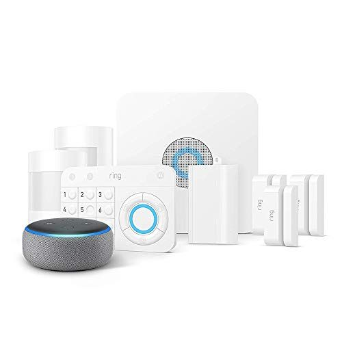 Add A Smart Alarm System To Your Home With This Ringalarm 8 Piece Kit Echo Dot Home Security Systems Wireless Home Security Systems Wireless Security System
