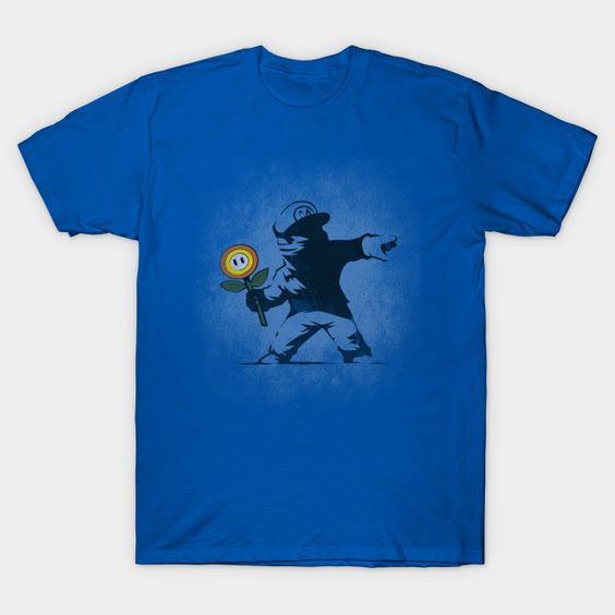 Graffiti Flower - Mens T-Shirt