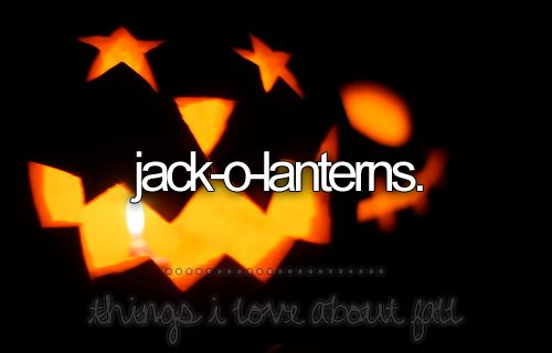 things i love about fall