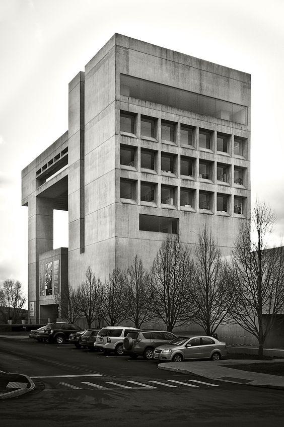 Herbert F. Johnson Museum of Art, Cornell University    I.M. Pei  photography byken mccownon Flickr.