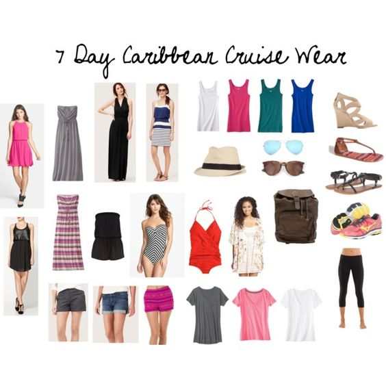 Here Are The Clothes I39ll Be Packing For Our 7Day Caribbean Cruise  FA