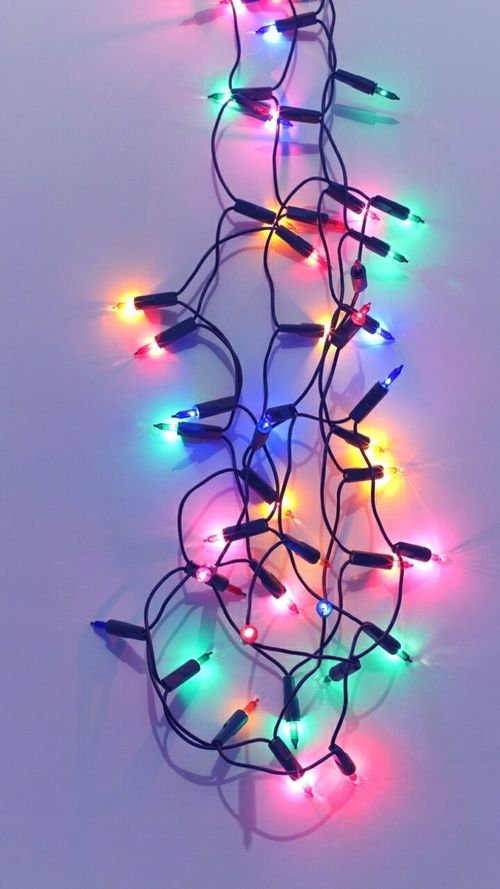 Christmas Lights And Wallpaper Afbeelding Wallpaper Iphone Christmas Christmas Wallpaper Holiday Wallpaper Christmas lights wallpaper tumblr