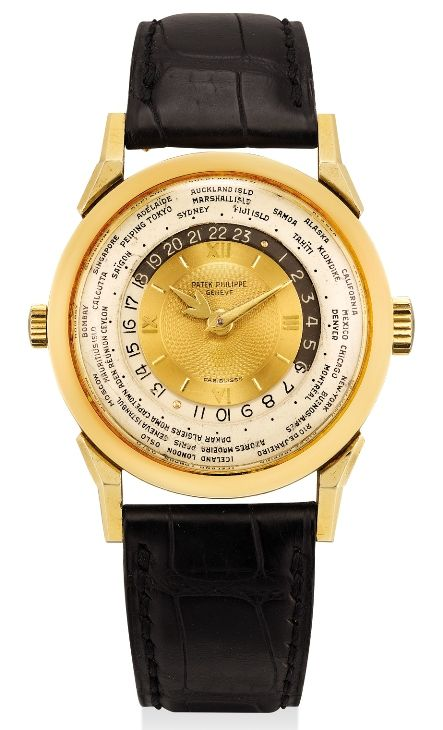 Patek Philippe Ref. 2523 Two-Crown World Time (1953)
