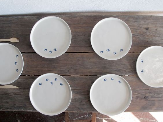 Portuguese porcelain with cobalt blue #swallow #margaridafábrica ...