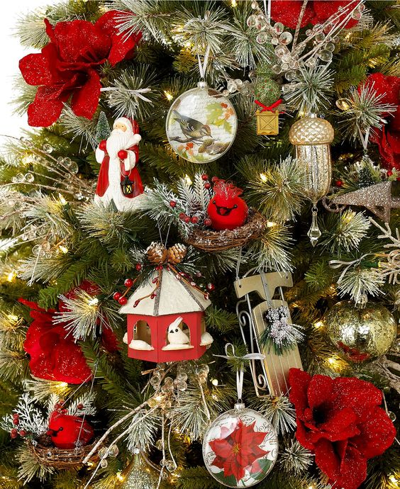 Holiday Lane Frost Garden Tree Theme - Holiday Lane - Macy's