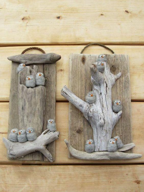 Идеи простых и забавных поделок из дерева   Древология   Яндекс Дзен