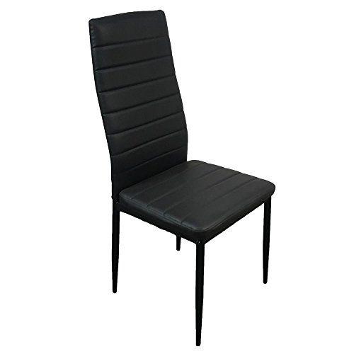 Lovinland Dining Chair Set Of 4 Kitchen Chair High Backrest Chair