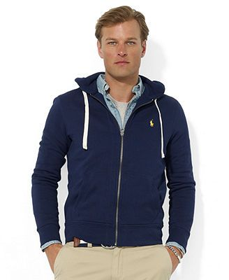 Polo Ralph Lauren Hoodie, Core Full Zip Hooded Fleece