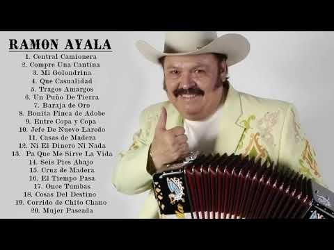 Ramon Ayala Mix Exitos Sus Mejores Canciones Youtube Mejores Canciones Musica Norteña Canciones