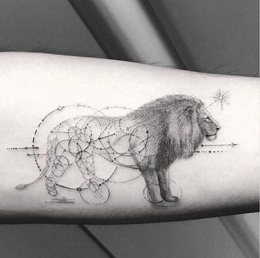 Pin On Lion Tattoo