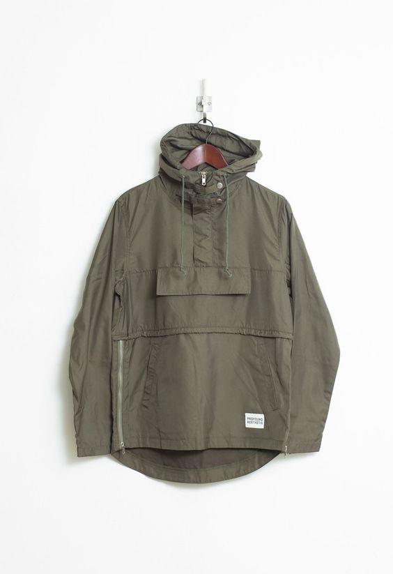 Pullover Windbreaker Jacket