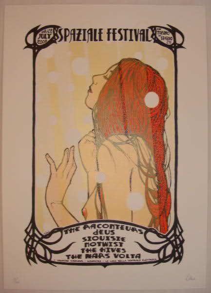the raconteurs-deus-the hives-the mars volta gig posters | POSTERS [+VINTAGE/HISTÓRIA VIVA] [+ DESIGN BACANAS] [+ POSTEM TAMBÉM ...