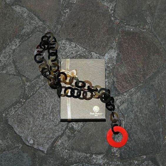Sarah beekmans horn necklace
