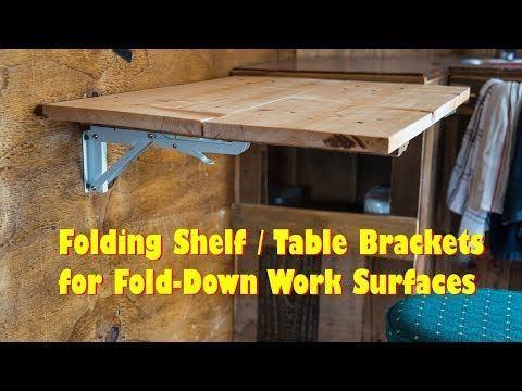 Check Out These Flip Up Table Brackets For Fold Down Work Surfaces