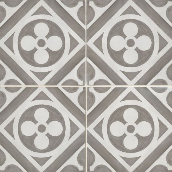 Chateau 12 X 12 Decorative Tile In Canvas Smoke Decorative Tile Ceramic Wall Tiles Encaustic Tile