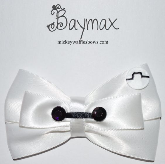 Fingers crossed I'll get this bow in time for the big hero 6 premiere!!! #baymax: