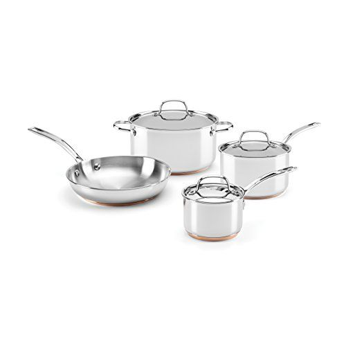 Food Wine For Gorham Stainless Steel 7piece Cookware Set Read