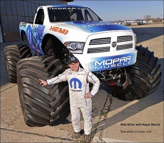 News Ram Sponsors Mopar Muscle Monster Truck Mopar