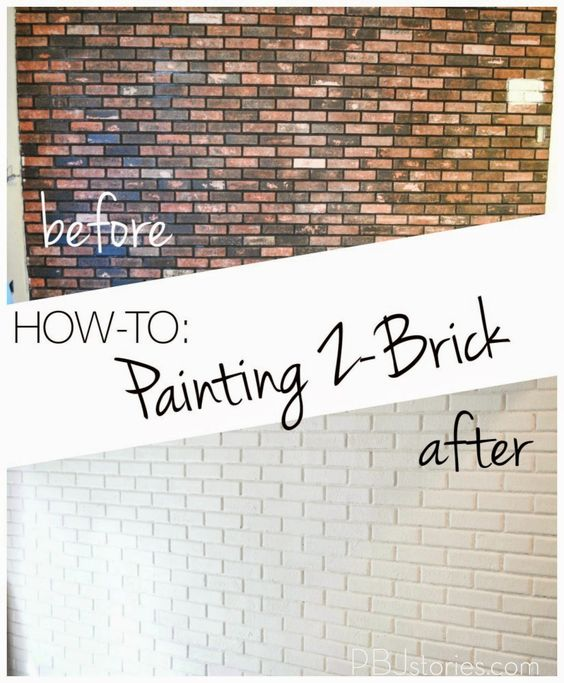 how to paint an interior brick wall. Black Bedroom Furniture Sets. Home Design Ideas