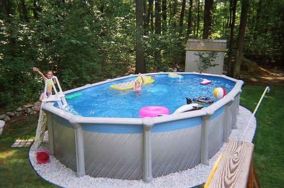 | Landscape For Small Yard  Pool Landscaping Ideas, Images Of Above