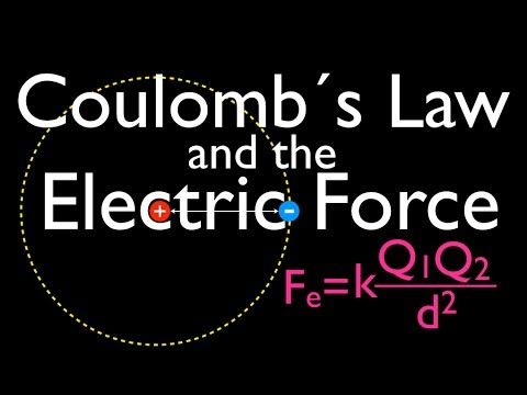 Coulomb S Law An Explanation Youtube Science Topics Physics Formulas Physics
