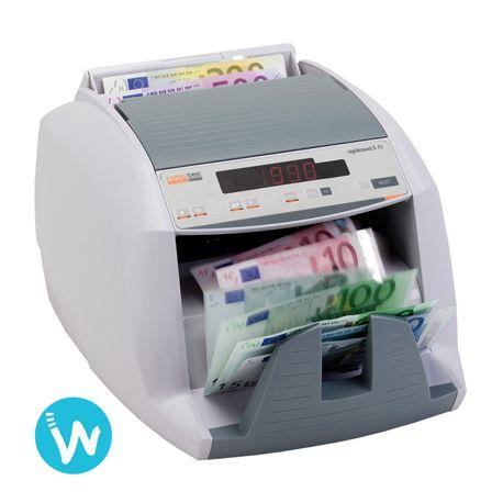 Gagnez du temps pour faire votre caisse grâce à cette compteuse de billets Ratiotec S85 disponible sur www.waapos.com, spécialiste de la monétique