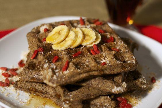 Gluten-Free Toasted Coconut Waffles: Free Vegan, Vegan Breakfast, Gluten Free Waffles, Vegan Gluten Free, Breakfast Recipes, Breakfast Waffles, Coconut Waffles