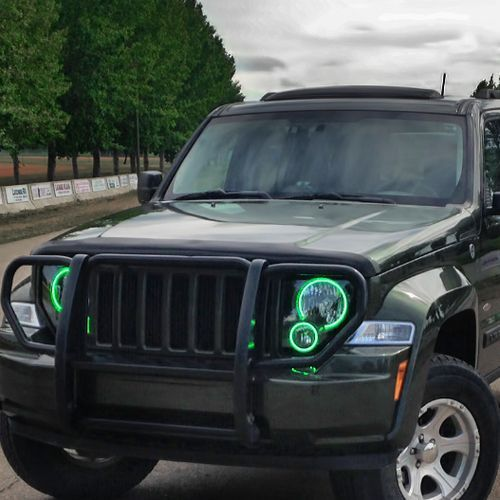 These Pre Assembled Jeep Liberty Headlights Include Bulbs Oracle