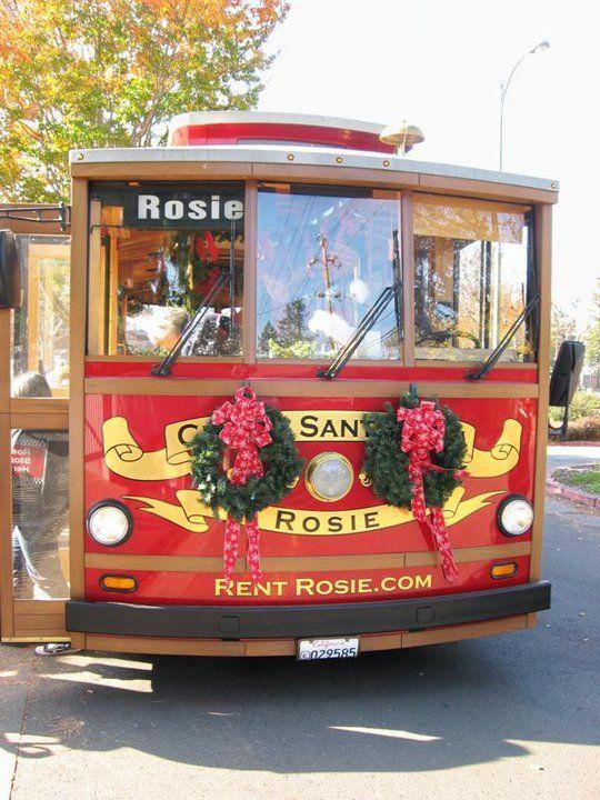 Rosie the Trolley www.santarosarec.com