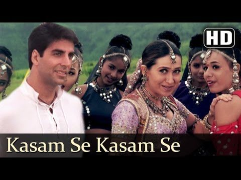 Kitna Pagal Dil Hai Andaaz Songs Akshay Kumar Lara Dutta Kumar Sanu Love Song Filmigaane Youtube Lagu Karisma Kapoor Akshay Kumar